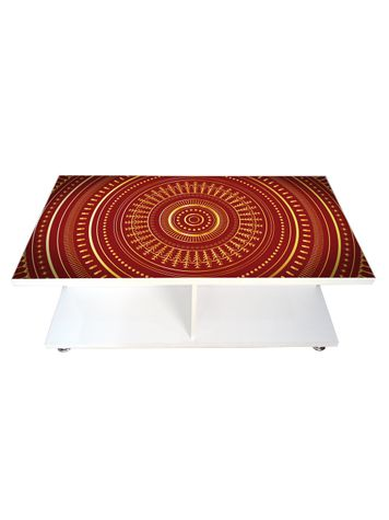 Coffee Table - Ornament Circles (Glossy Finish)