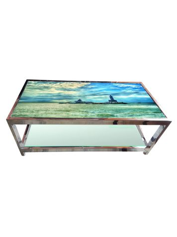 Glass Table - Beach View
