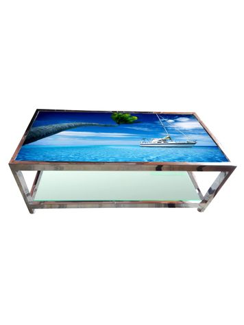 Glass Table - Sea View