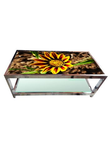 Glass Table - Sunflower
