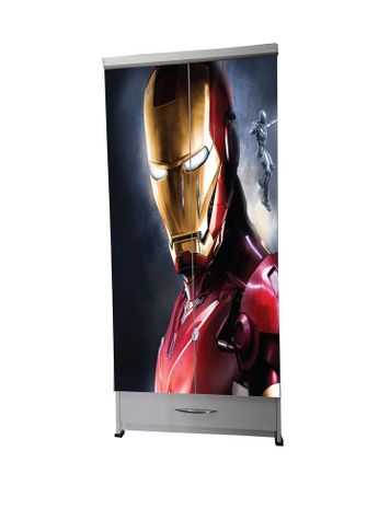 BigSmile Kids Wardrobe - Iron Man (5.5ft x 2.5ft) Glossy Finish