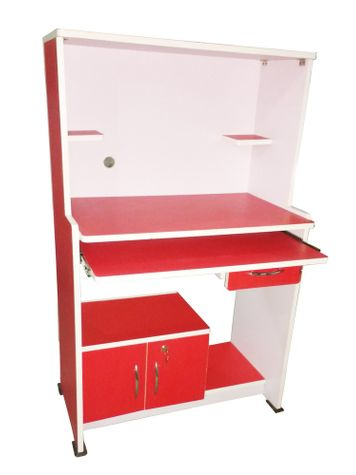 BigSmile Study Table - Cyber Red