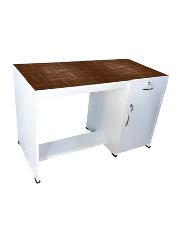 BigSmile Study Table - Wooden Texture-04
