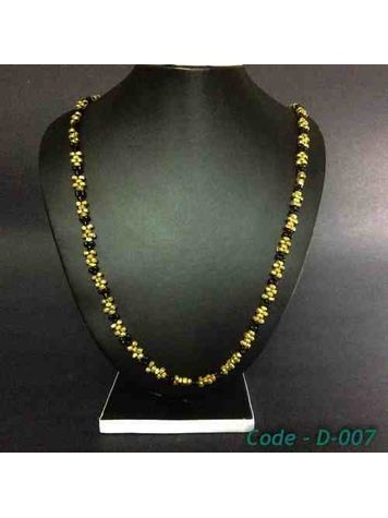 Hand-crafted Dokra - Black & Golden Chain