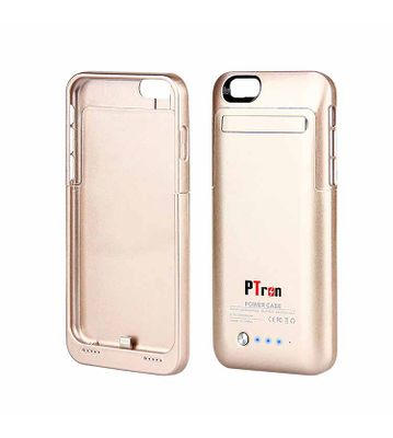 PTron 3500 mAh Battery Power Case for Apple iPhone 6 6s (Gold)
