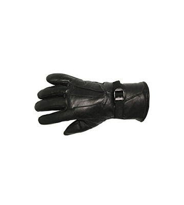 SPHINX Pure Leather Winter And Riding Gloves For Men,(Black,L)