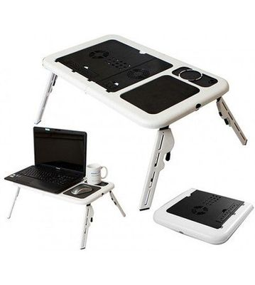 Unique Gadget HIGH QUALITY FOLDABLE LAPTOP TABLE WITH 2 USB COOLING FANS