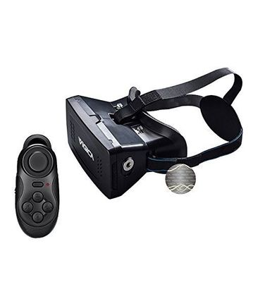 Vigica 3D virtual Reality Headset with Bluetooth Remote