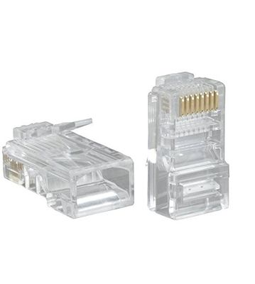 RJ 45 Connector NT Best Quality Pack of 100 Pcs