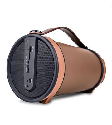 iBall Musi Barrel BT31 Portable Bluetooth Speakers (Chocolate Brown)