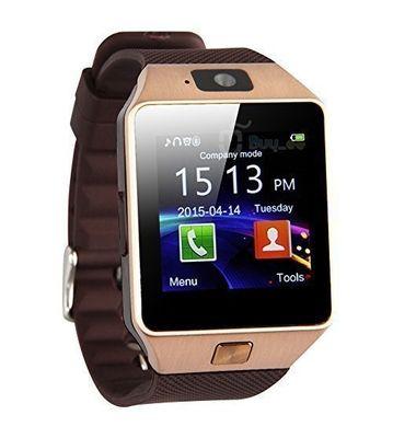 Mobizmo TM Smartwatch with GSM Sim & up to 32 GB Storage Slot with 6 months Carry in warranty