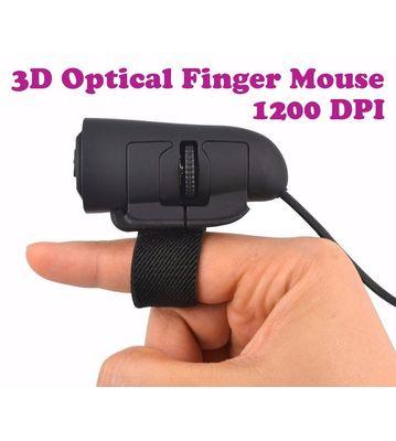 Gadget Hero's 3D Optical Finger Mouse 1200 DPI For Desktop & Laptop Computers. Windows & MAC Compatible.