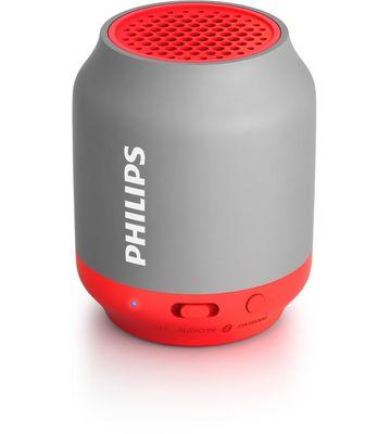 Philips BT-50G Portable Wireless Bluetooth Speaker (Grey)