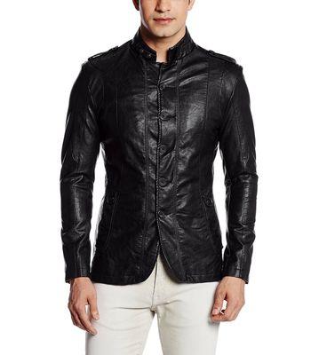 Fort Collins Men's Leather Coat