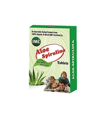 Aloe Spirulina (30 Tablets) 1000mg
