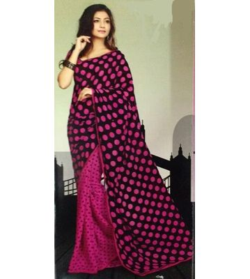 haytee black beauty saree