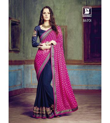 Bahubali Designer Saree-6