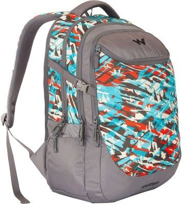 WILDCRAFT CAMO 5 BACKPACK BAG - TURQUOISE