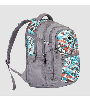 WILDCRAFT CAMO 6 BACKPACK BAG - TURQUOISE