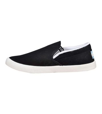 Delux Look Black Canvas Shoes