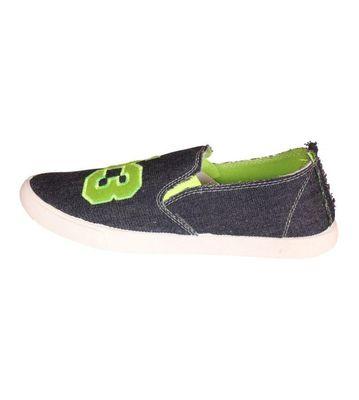 Delux Look Black Slip-on Shoes