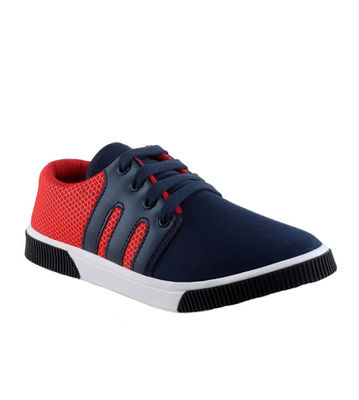 Delux Look Blue Smart Casuals Shoes