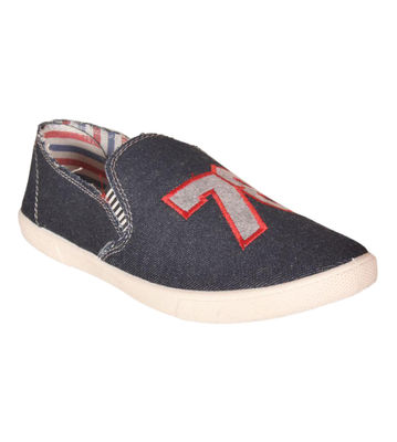 Delux Look Navy Slip-on Shoes