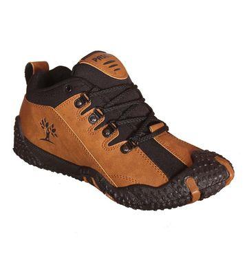 Delux Look Tan Outdoor Shoes
