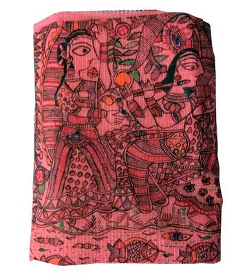 Mithila Painting Saree (cotton)