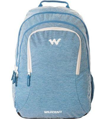 WILDCRAFT MELANGE 4 BACKPACK BAG - BLUE