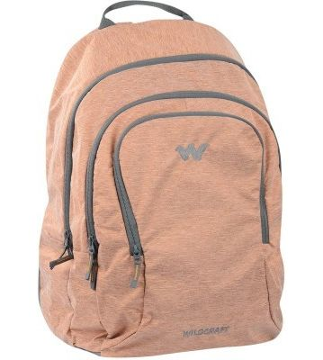 WILDCRAFT MELANGE 4 BACKPACK BAG - ORANGE