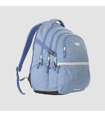 WILDCRAFT MELANGE 8 BACKPACK BAG - BLUE