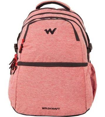 WILDCRAFT MELANGE 8 BACKPACK BAG - RED