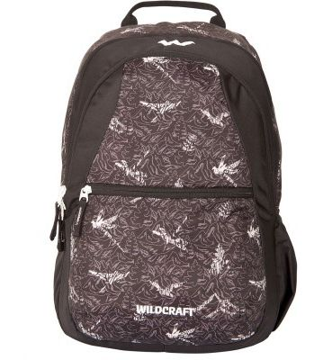 WILDCRAFT NATURE 1 BACKPACK BAG - BLACK