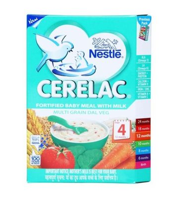 NESTLE CERELAC MULTI GRAIN DAL VEG STAGE 4
