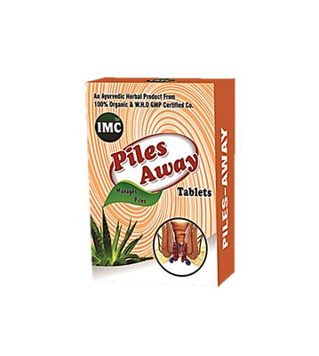 Piles Away Tablets (30 Tablets) 1000mg