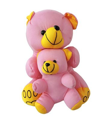 Mother Teddy Bear with baby