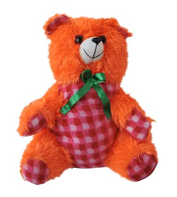 Small Orange Color Teddy Bear