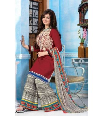 Rudra House  Cotton Unstitched Dress Material