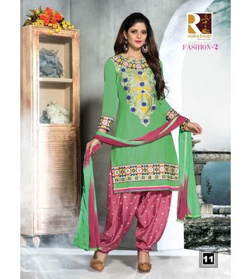 Rudra House Fashion Cotton Unstitched Dress Material