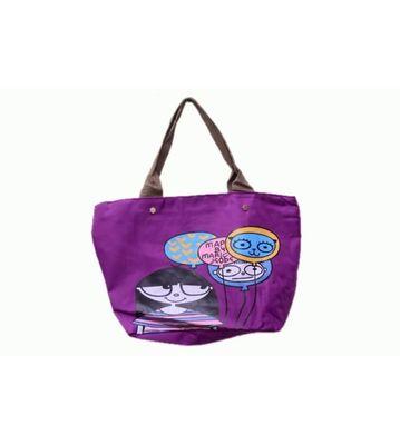 printed trendy long bags (women)