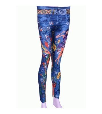 skinny printed legging