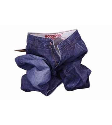 Wood row fashion jeans
