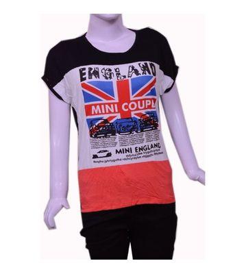 Mini England print t-shirt