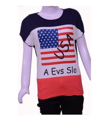 EVA USA print t-shirt