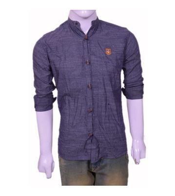 wooden button casual shirt
