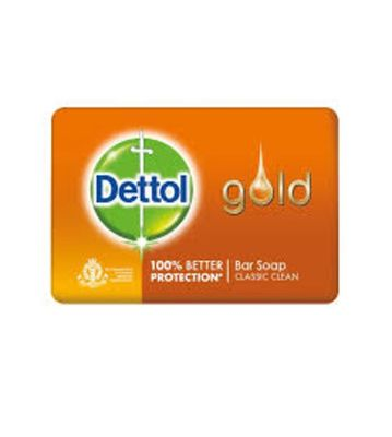 DETTOL GOLD BAR SOAP 125GM