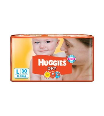HUGGIES DRY LARGE 8-14KG 5PCS