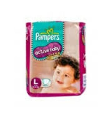 PAMPERS ACTIVE BABY L 9-14KG