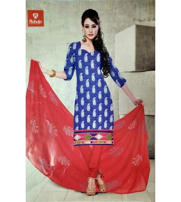 Raheja Jully Unstitched Dress Material